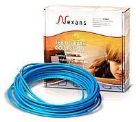 Обогрев кровли и водосточных труб нагревательный одножильный кабель Nexans TXLP/1- 28 ВТ/М  2800 ВТ.