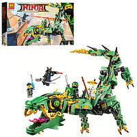 Конструктор Bela Нинзяго 10718 робот-дракон 573 дет.
