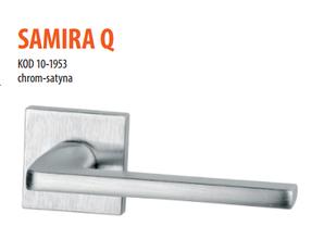 Дверная ручка VDS Samira Q хром-сатин
