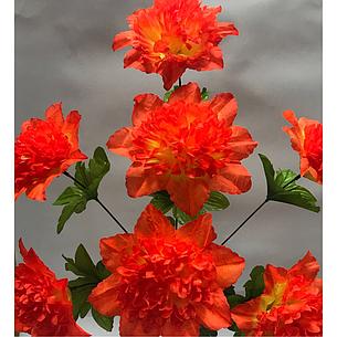 Искусственные цветы.Искусственный букет клематисов пышка., фото 2