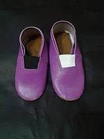 Чешки фиолетовые из винила