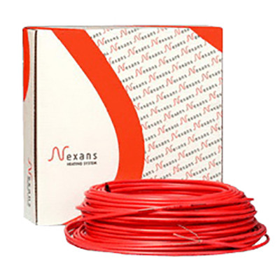 Обогрев кровли и водосточных труб нагревательный двухжильный кабель Nexans TXLP/2R - 28 ВТ/М 1900BТ.