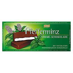 Шоколад Böhme Pfefferminz мята 100г