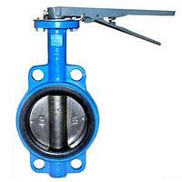 """Затвор дисковый поворотный типа """"баттерфляй"""" для воды, Ду25-1200"""