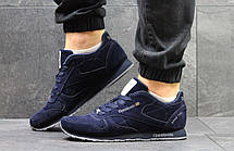 Мужские кроссовки Reebok Classic Leather since 1983,темно синие 46р, фото 2