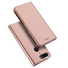 Чехол книжка Dux Ducis Skin Pro для OnePlus 5T розовое золото