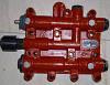 Блок клапанов контроля (распределитель кпп )403700 ZL50.3.15\12C0063