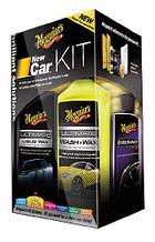 Подарочный набор для ухода за новым автомобилем - Meguiar's New Car Kit (G3200)