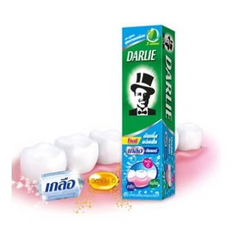 Лечебная Зубная паста Darlie двойного действия с солью для десен 35 г