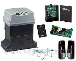 Автоматика Faac 746 ER kit  для откатных ворот (комплект)