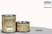Стандолевая масляная краска жирная, верхний слой / Standölfarbe Schlussanstrich Weiß, белая  0,375 l , фото 1