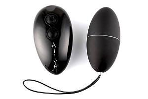 Виброяйцо Alive Magic Egg 2.0 Black с пультом ДУ