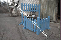 Забор декоративный для клумбы высота 50 см