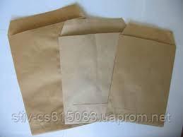 Пакет бумажный 170*30*230  крафт бур. 40