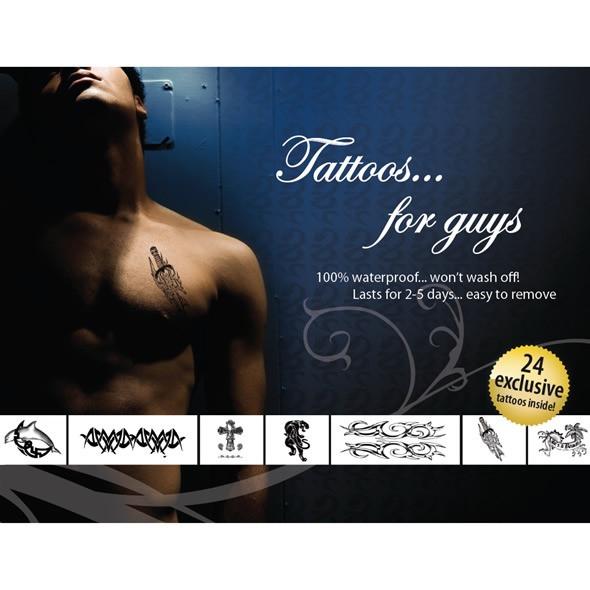 Tattoo Set - For Guys