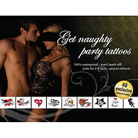 Tattoo Set - Get Naughty Party, фото 1