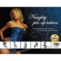 Tattoo Set - Naughty Pin-Up, фото 1
