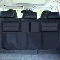 Органайзер для автомобиля на спинку заднего сиденья 86*46см Черный (04139)