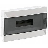 Щит накладной Makel 12 модулей прозрачная дверь