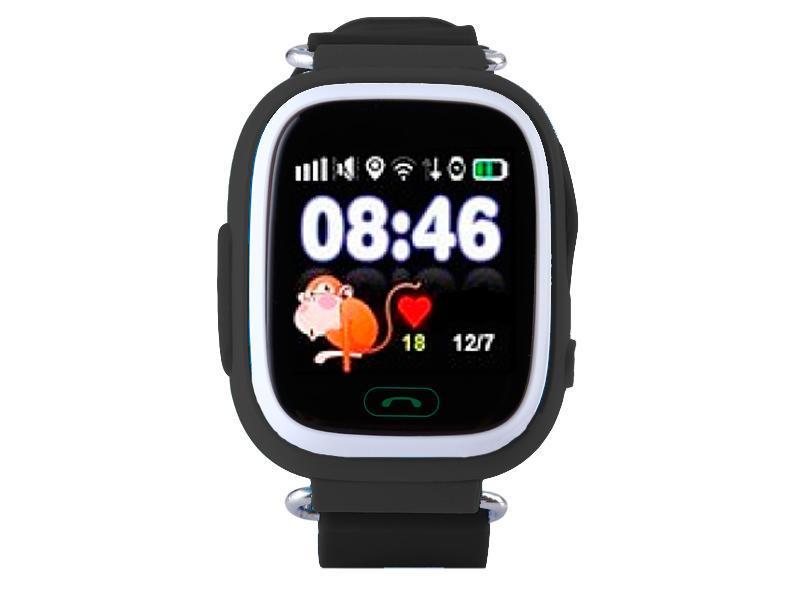 Сенсорные детские умные часы оригинал с GPS Smart Baby Watch Q100 настройка  в подарок - Интернет 07a52c44a5042