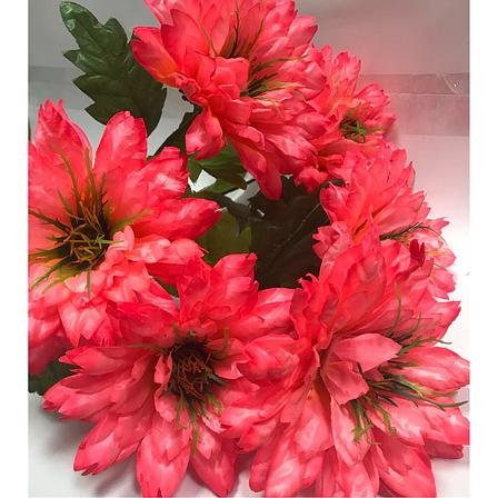 Искусственные цветы.Искусственный букет хризантема пушистая., фото 2