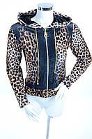 Велюровый женский спортивный костюм 7324 44, Черный