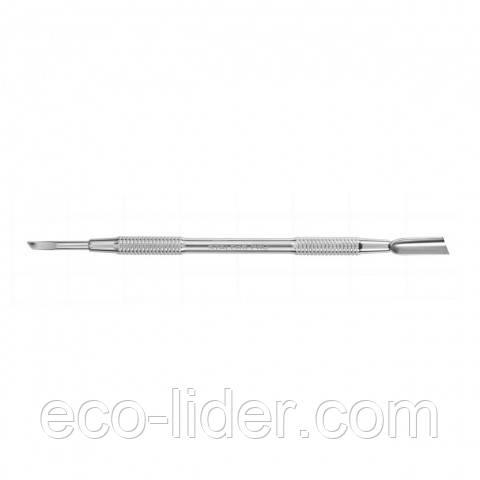 Маникюрная лопатка двусторонняя (скошенный пушер+лопасть) Сталекс Р7-10-04 (Л-04ст)