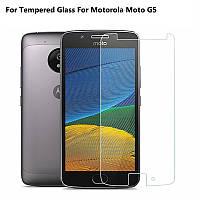 Защитное стекло Glass для Motorola Moto G5