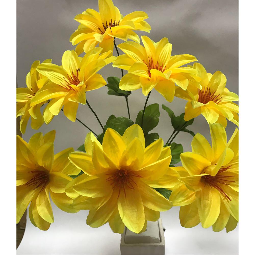 Искусственные цветы.Искусственный букет крокус атласный.