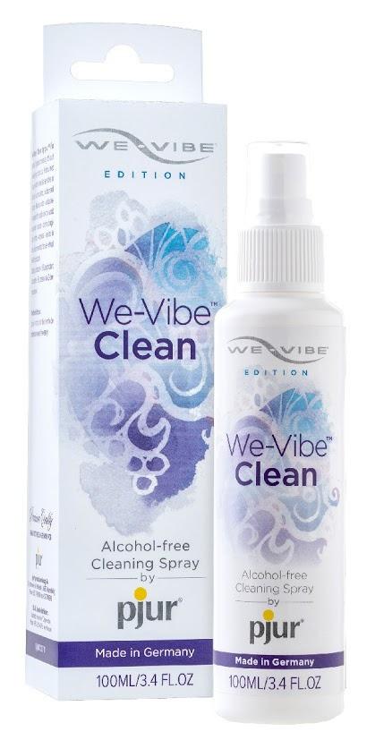 Антибактериальный спрей pjur We-Vibe Clean 100 мл без спирта и ароматизаторов