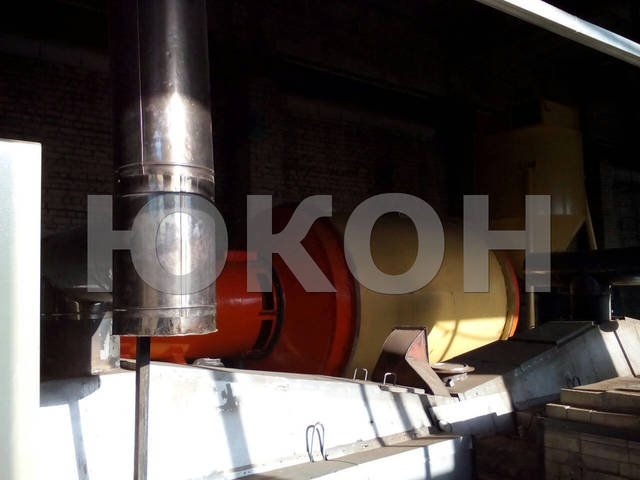 Сушильный комплекс АВМ-0,65 в составе линии гранулирования топливной пеллеты 4