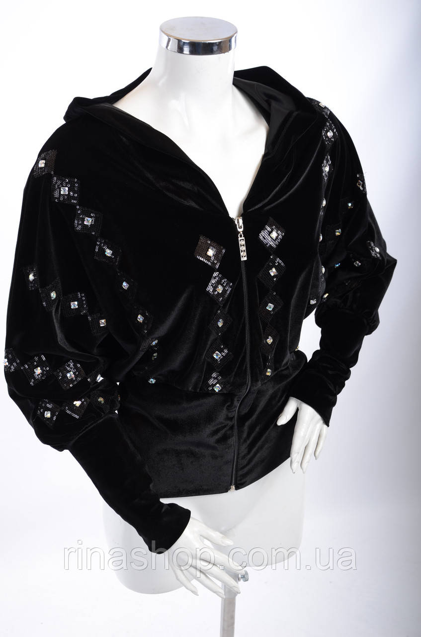 Велюровый женский спортивный костюм 3006