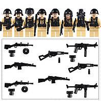 Военные фигурки,Набор CCCP  второй мировой войны, аналог лего, BrickArms