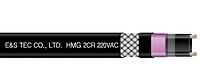 Обогрев кровли и водосточных труб саморегулирующийся нагревательный кабель HMG40 - 2CR 40 Вт/м ML&H Co Корея.