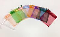 """Мешечек """"Органза Прозрачный"""" цвета разные"""