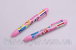 Ручка шариковая детская, 6-цветная, в ассортименте