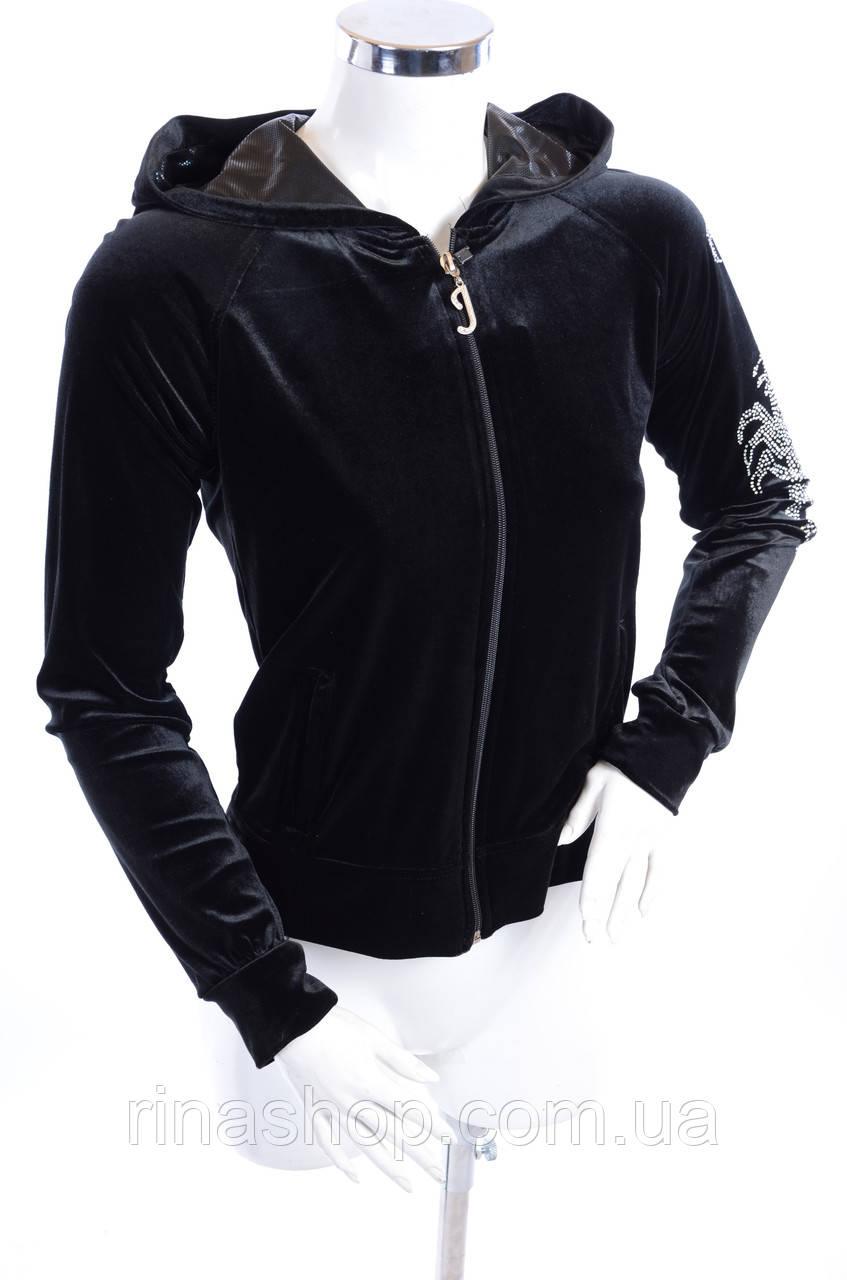Велюровый женский спортивный костюм 691