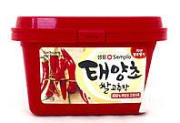 Паста чили острая корейская Гочуджан Sempio 500 г, фото 1