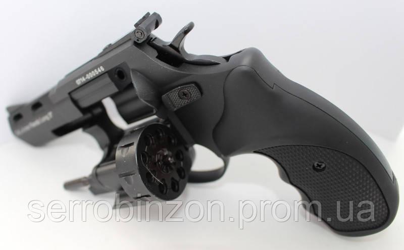 """Револьвер Флобера STREAMER 3"""" чорний 2"""