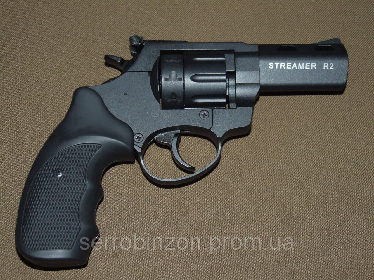 """Револьвер Флобера STREAMER 3"""" чорний 4"""