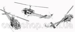 """Металлический конструктор """"Вертолет UH-1"""" (1 пластина)"""