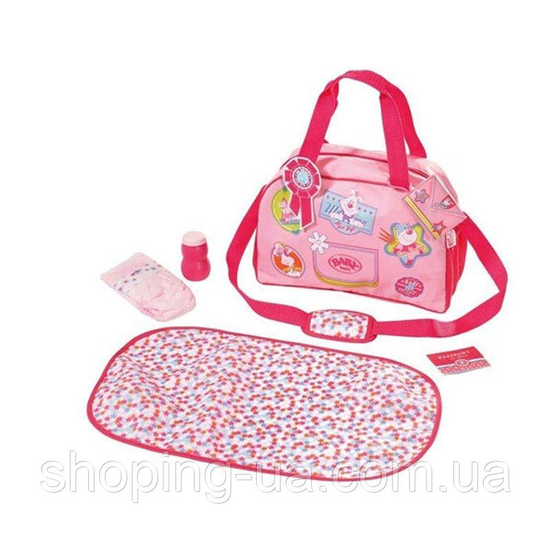 Сумка для куклы Baby Born Модная прогулка с аксессуарами Zapf Creation 822227, фото 1