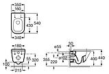 Унитаз ROCA GAP A34H478000 с сиденьем Soft Close, фото 2