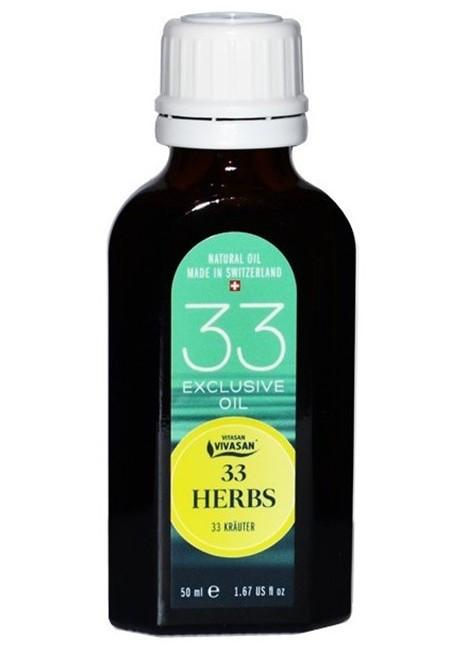 Эфирное масло 33 Травы, классик, натуральное, Швейцария /  / 33 Herbs - VIVASAN planet в Киеве