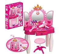Игровой набор Трюмо / туалетный столик Волшебная палочка пульт, MP3 вход, фен, косметика