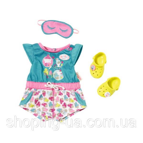 Одежда для куклы Baby born Пижамка с обувью Zapf Creation 822470, фото 1