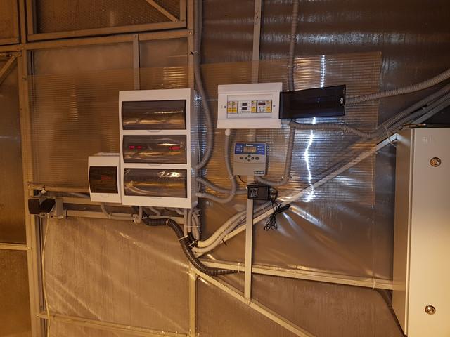 автоматика управления теплицей