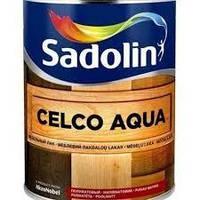 Лак для стен глянцевый SADOLIN CELCO AQUA 70 Садолин Селко Аква 70, 2,5л