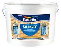 Краска фасадная SADOLIN SILIKAT Садолин Силикат 10л