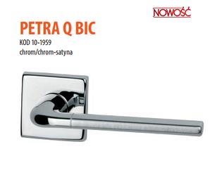 Дверная ручка VDS Petra Q big  хром-сатин/хром